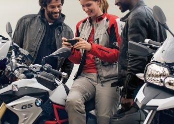 BMW Motorrad ConnectedRide Smartphone Motorcycle Integration