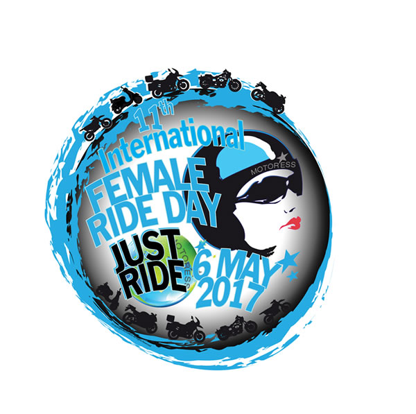 2017 International Female Ride Day Logo - MOTORESS
