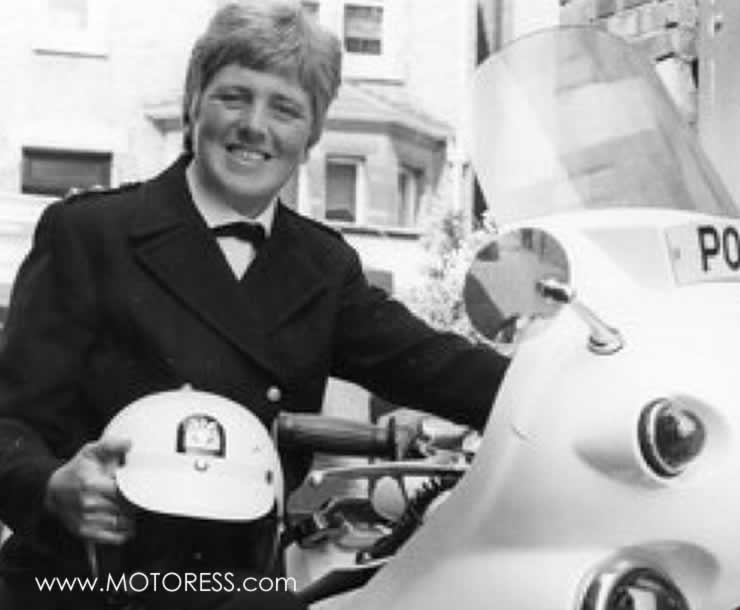 England's First Woman Motorcycle Cop - MOTORESS