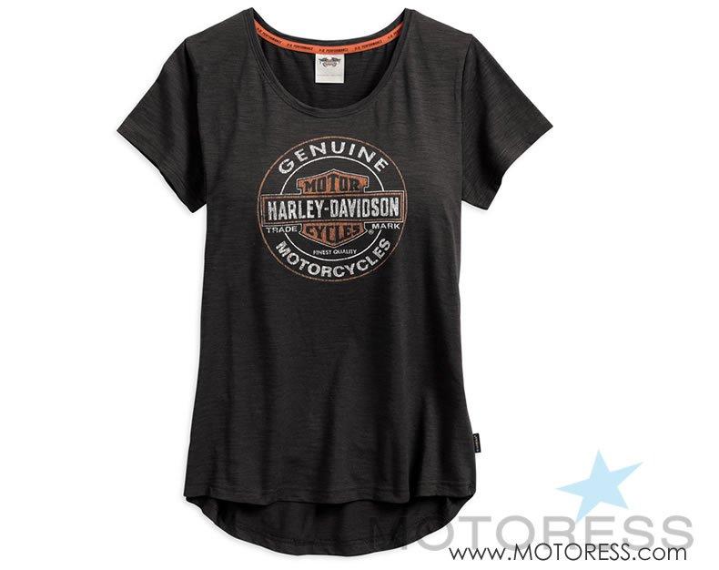 Harley-Davidson Women's Coldblack Tshirt on MOTORESS