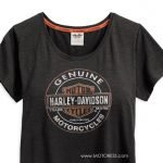 Beat The Heat Harley-Davidson Women's T-Shirt Coldblack Technology
