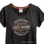 Beat The Heat Harley-Davidson Women's T-Shirt Coldblack Technology