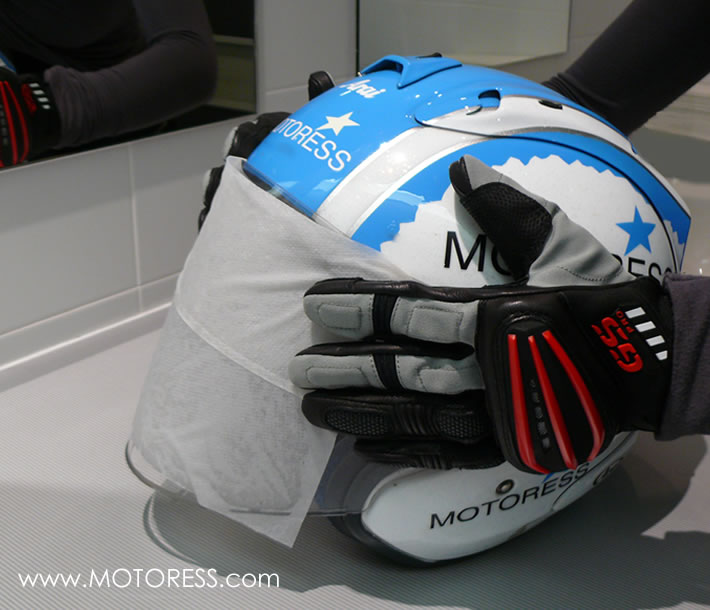 Ten Motorcycle Helmet Care Tips on MOTORESS