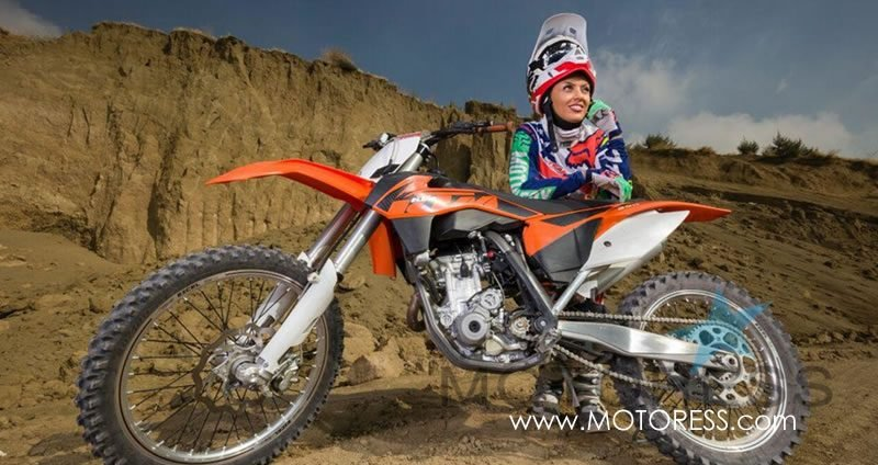 Iran's New Generation Woman Inspiring Through Motocross - MOTORESS