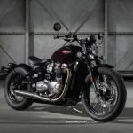 Brutal Beauty New Triumph Bonneville Bobber