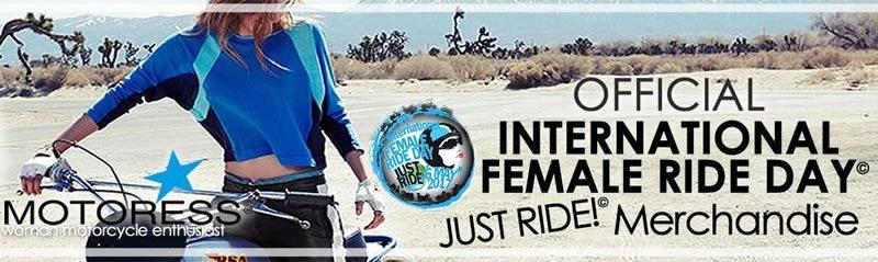 2017 International Female Ride Day T-Shirts on MOTORESS