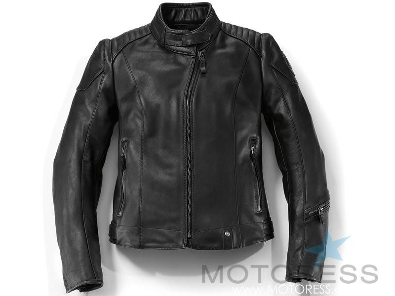 BMW Motorrad DarkNite Women's Motorcycle Suit on MOTORESS
