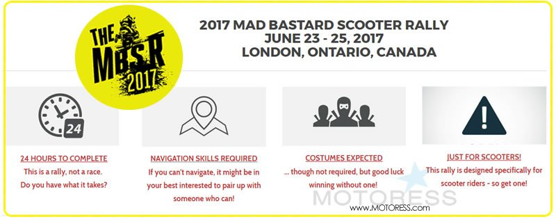 Mad Bastard Scooter Rally 2017