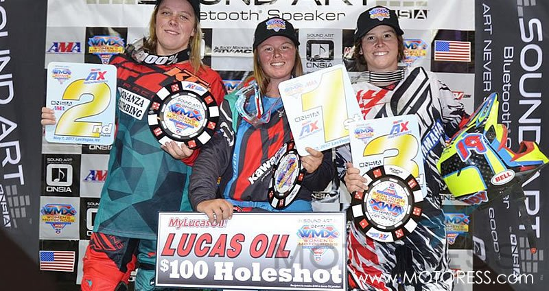 Women's Motocross Championship Round 4 on MOTORESS