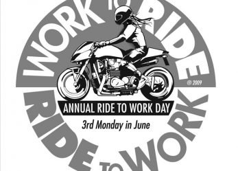 Motorcycle and Scooter Ride To Work Day – Monday 19 June 2017