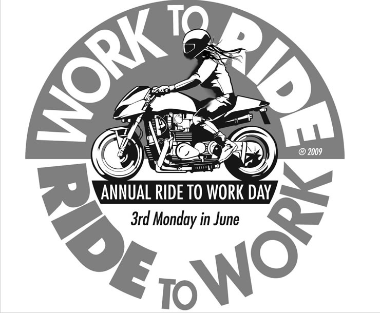 Motorcycle and Scooter Ride To Work Day - MOTORESS