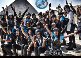 2017 International Female Ride Day Photo Contest Group Shot Winners – Lady Riders Egypt