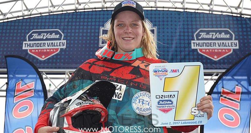 Women's Motocross Championship Colorado - on MOTORESS