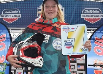 Mackenzie Tricker On Top at Thunder Valley Women's Motocross Championship Round Six Colorado