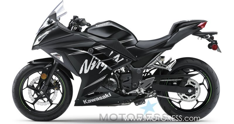 Kawasaki Ninja 300 ABS Winter Test Edition on MOTORESS
