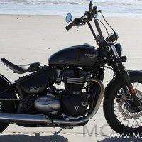 Triumph Bonneville Bobber Ride Review Woman Motorcycle Enthusiast
