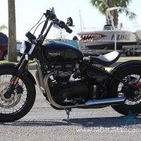 Triumph Bonneville Bobber on MOTORESS .com