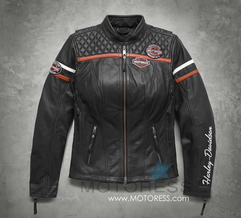 Triple Vent System Women's Leather Jacket from Harley-Davidson - MOTORESS