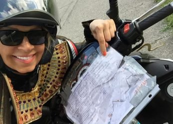 Blog:  Throw A Turn Into Your Riding, Take A Gas Powered Scooter Ride for 600 Kms In Costume On The Mad Bastard Scooter Rally