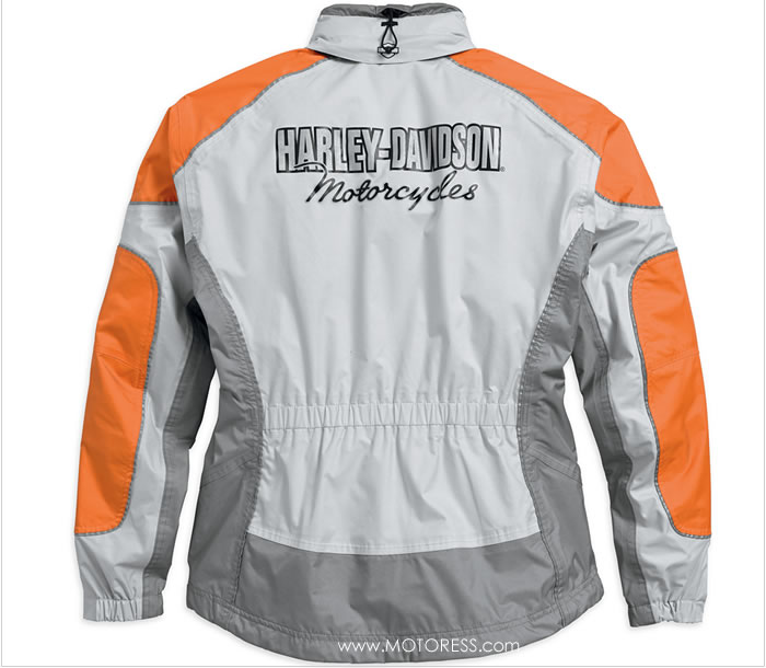 Harley-Davidson Women's Two Piece Rain Suit on MOTORESS