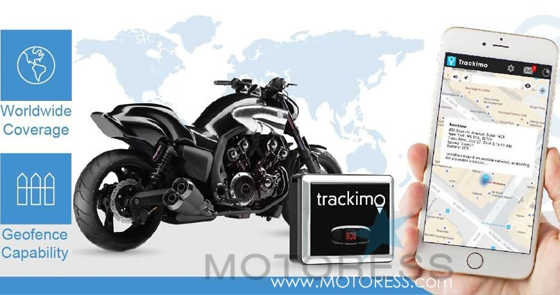 Motorcycle Anti-Theft Solution - MOTORESS