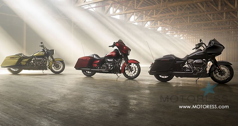 Harley-Davidson Introduces Five New Touring Bikes - MOTORESS