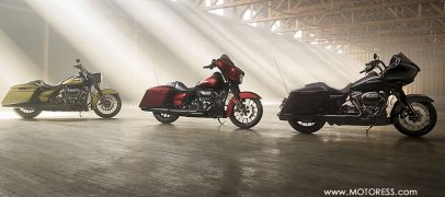 Five Harley-Davidson New Touring Bikes – More Power, Comfort And Handling