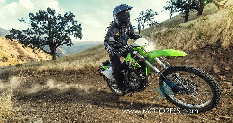 2018 Kawasaki KLX250S Dual Purpose Motorcycle -MOTORESS.COM
