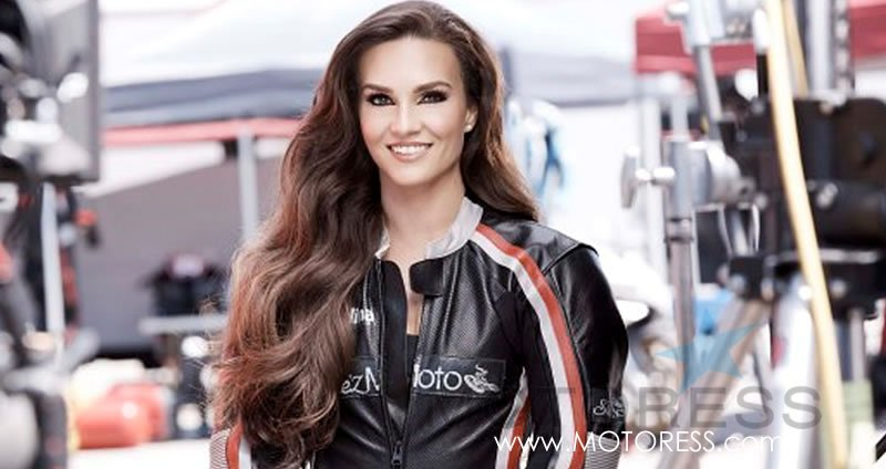 New Covergirl American Racer Shelina Moreda on MOTORESS.com