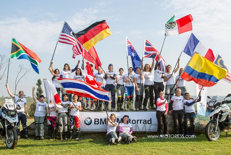 BMW Motorrad Women's Team 2018 International GS Trophy - MOTORESS