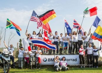 BMW Motorrad Women's Team Selected For 2018 International GS Trophy