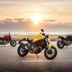 New Ducati Monster 821 Most Balanced Version of Iconic Monster Range