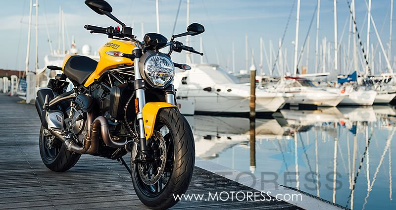 Ducati Monster 821 on MOTORESS.com
