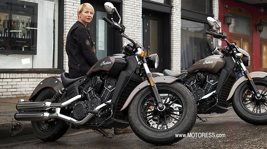 Indian Motorcycle Scout Line-Up 2018 - MOTORESS