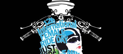 2018 International Female Ride Day Logo – Ready for 5 May 12th Edition
