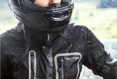 Triumph Snowdon Women's Motorcycle Jacket with Gore-Tex Built for Adventure