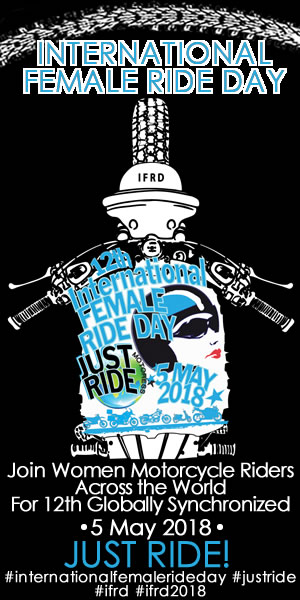 International Female Ride Day 2018 - JUST RIDE!