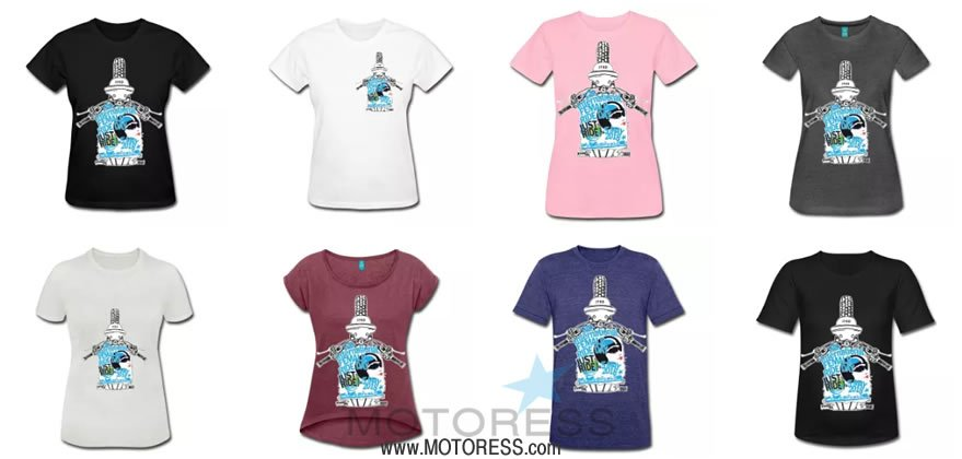 Official 2018 International Female Ride Day T-Shirts And Merchandise - MOTORESS