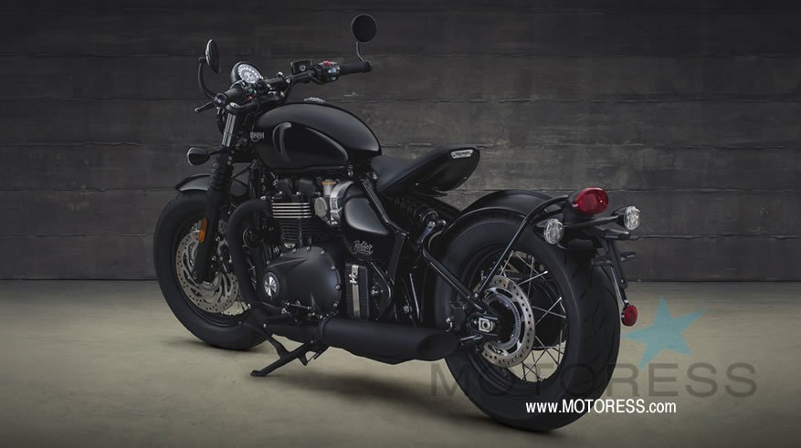 New Bonneville Bobber Black - MOTORESS