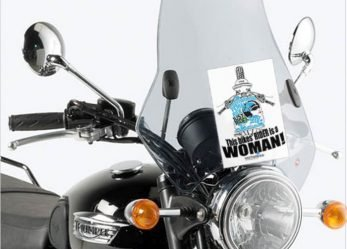 2018 International Female Ride Day Windscreen Flyer