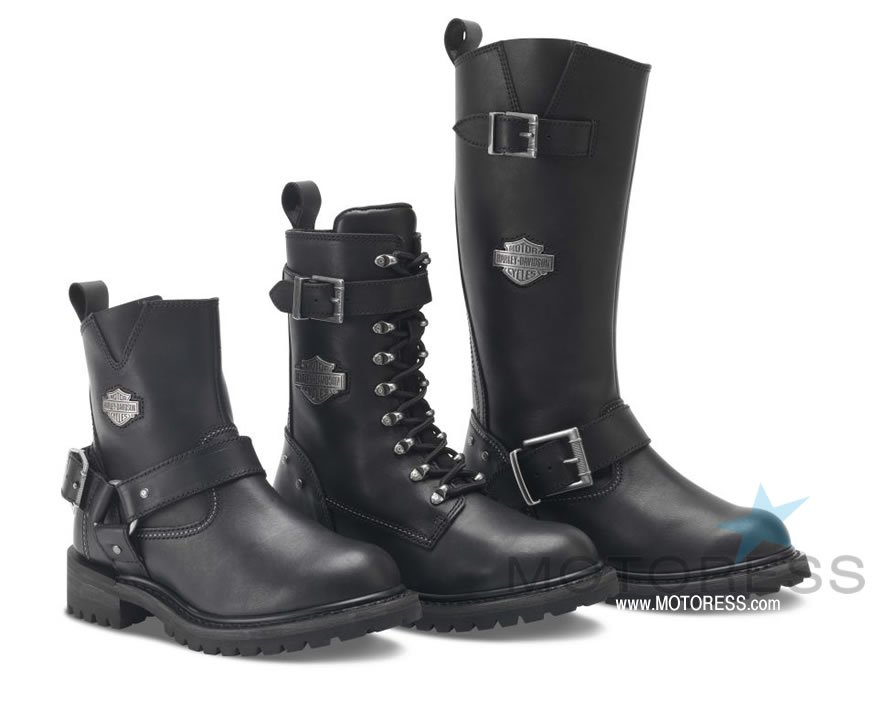 Beat the Heat Women's Motorcycle Boots - MOTORESS