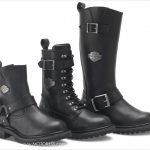 Women's Motorcycle Boots with High Temperature-Resistant Technology