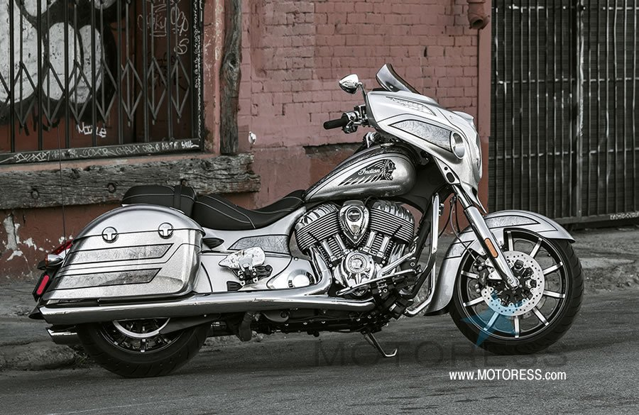 Limited Edition Indian Motorcycle Chieftain Elite - MOTORESS