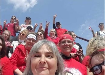 2018 International Female Ride Day Group Photo Contest Winner – Lady Riders Ontario Canada!