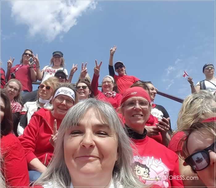 2018 International Female Ride Day Group Photo Contest Group Winner - MOTORESS
