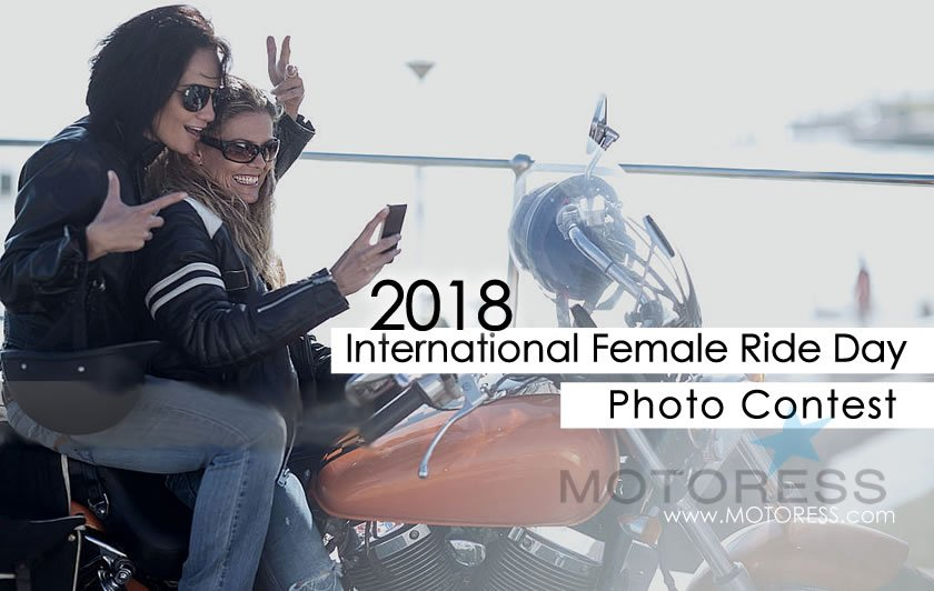 2018 Photo Contest for International Female Ride Day - MOTORESS