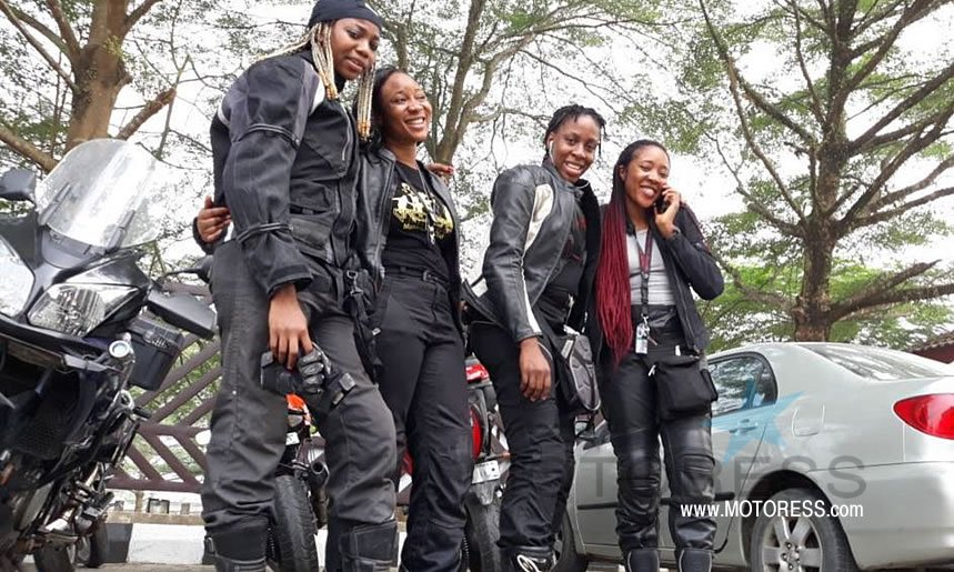 Female Bikers Initiative Riding Motorcycles to Saves Lives -MOTORESS