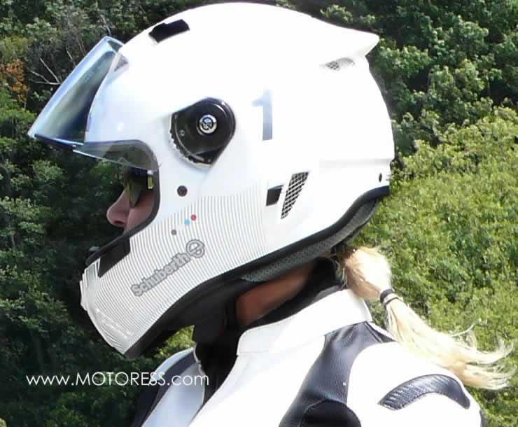 Schuberth SR1 Helmet Review Light Fit for Women - MOTORESS