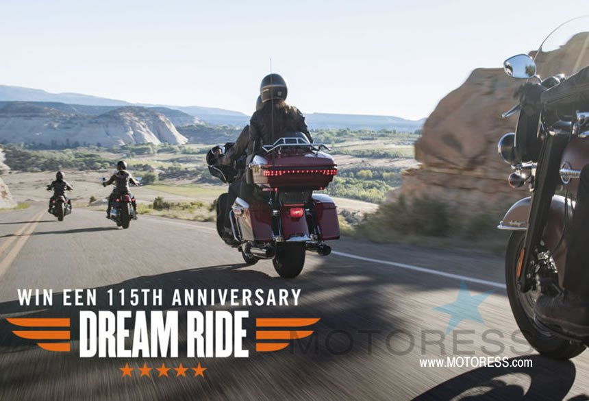 You Could Win An Epic Trip to Harley-Davidson's 115th