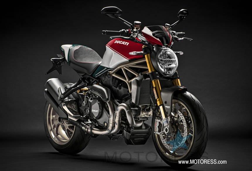 Limited Edition Ducati Monster 1200 25° Anniversario - MOTORESS